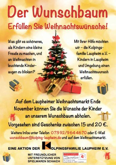 Erfüllen Sie Weihnachtswünsche!